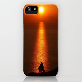 Walk The Path To The Sun iPhone Case