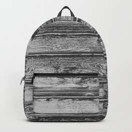 Weathered Wood Wall Backpack