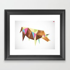 Bull/Market Framed Art Print