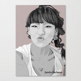 Illustrator picture Canvas Print