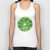lime Tank Tops featuring Lime by Kcin