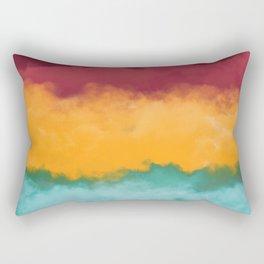 Storm at Coast Rectangular Pillow