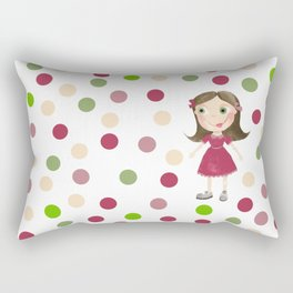 Girls rulz Rectangular Pillow