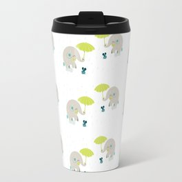 Rain Pattern Travel Mug