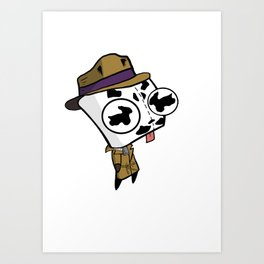 Rorschach GIR Art Print