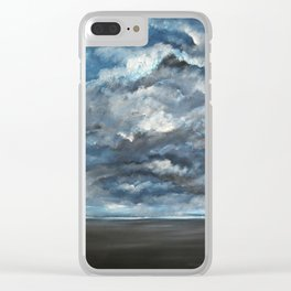 The Sun is Coming (Lista) by Gerlinde Clear iPhone Case