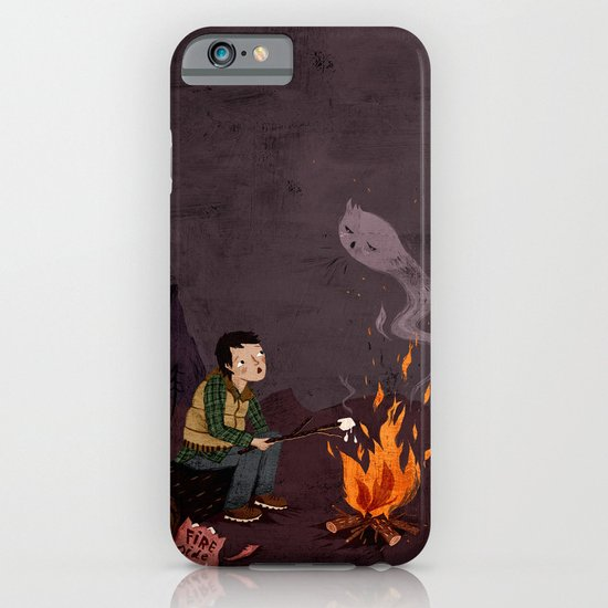 I got bad news for you, said the ghost. iPhone & iPod Case