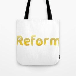 Reformed Letter Form Tote Bag