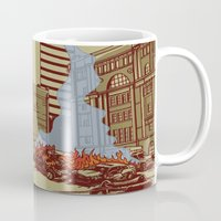 portland Mugs featuring Locals Only - Portland, OR by Joshua Kemble