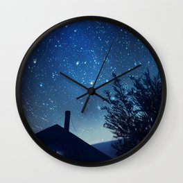 Kea Hut Wall Clock
