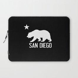 San Diego and California Bear Laptop Sleeve