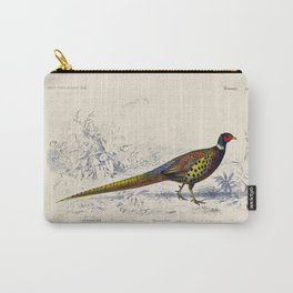 Vintage Pheasant Carry-All Pouch