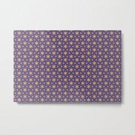 Wallpaper for children seamless background pattern Metal Print