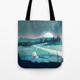A Mermaid's Dream Tote Bag