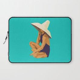 Criss Cross Applesauce Laptop Sleeve
