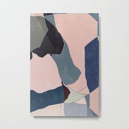Start Over BA10 Abstract Art Metal Print