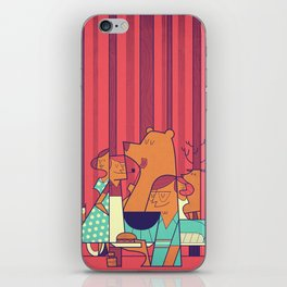 Barbecue iPhone Skin