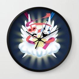 MASKS OF DRAMA Wall Clock