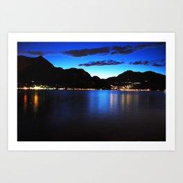 The Lake of Como Art Print