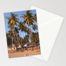 Palm Lined Beach Palolem Stationery Cards