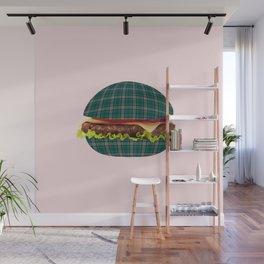 Hamburger-tartan Wall Mural