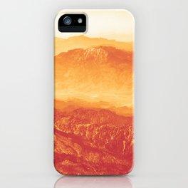 Broken Mountains iPhone Case