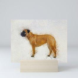 Bullmastiff Mini Art Print