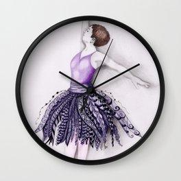 Dancer on Pointe Wall Clock