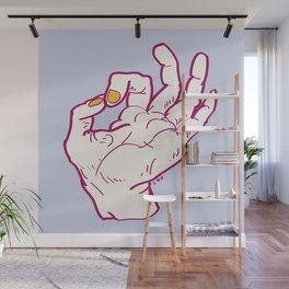 Ok hand Wall Mural