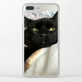 THE CAT WITH NO NAME M* Clear iPhone Case