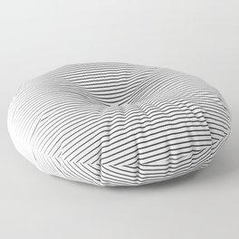 line blend Floor Pillow