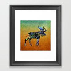 Designer Moose * Framed Art Print