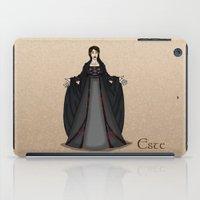 valar morghulis iPad Cases featuring Este by wolfanita