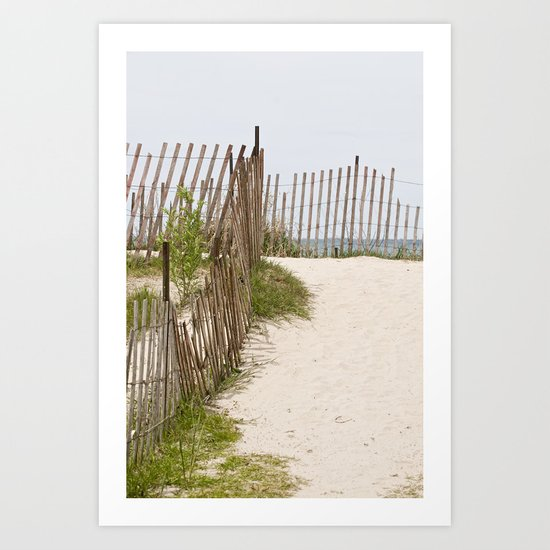 A Path to Paradise Art Print