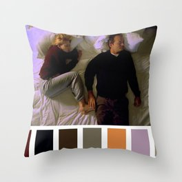 I'm stuck Throw Pillow