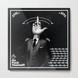 Mr.F. Metal Print