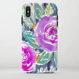 Gardens of Bolinas Purple Floral iPhone Case