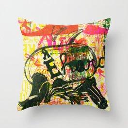 É Hard Throw Pillow
