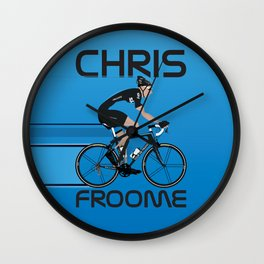 Chris Froome Wall Clock