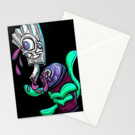 Spray Can 3rd Eye Purple Royal Stain Stationery Cards