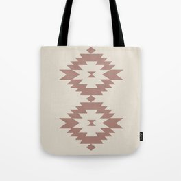 Southwestern Minimalism - Dark Rose Tote Bag