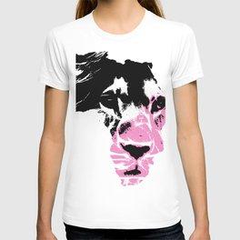 Lion Heart Africa Pink T-shirt
