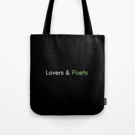 Classic Lovers & Poets Logo Tote Bag