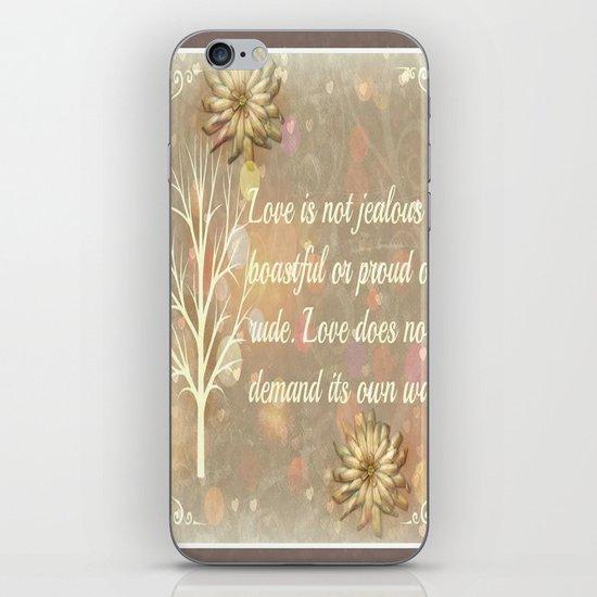 Love Two iPhone & iPod Skin