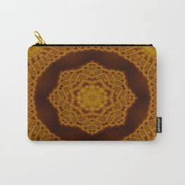 Macrame fractal Carry-All Pouch