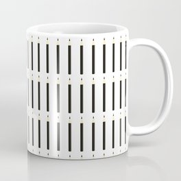 Pencil Graphic Stripe Graphic Coffee Mug