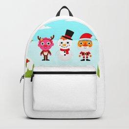 Hello Reindeer,Goodbye Snowman Kids Songs Backpack