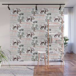 Royal Rhinoceros Wall Mural
