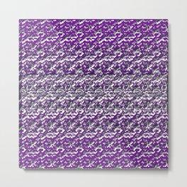 Violet Chrome Metal Print