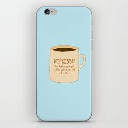 Depresso iPhone Skin
